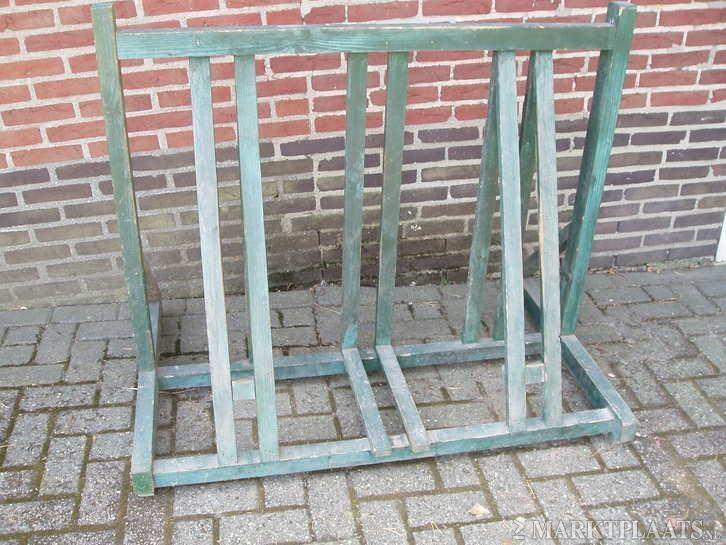 Marktplaats nl  u0026gt; Te koop houten fietsenrek   Fietsen en Brommers   Overige Fietsen en Brommers