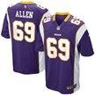 Nike Jared Allen Minnesota Vikings Game Jersey - Purple