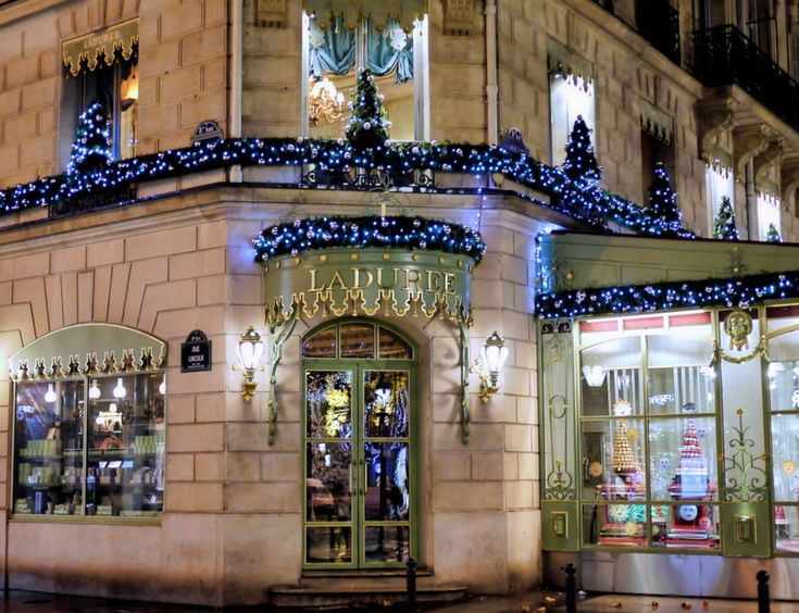 p tisserie ladur e christmas decor at intercontinental paris le grand hotel a very merry paris. Black Bedroom Furniture Sets. Home Design Ideas