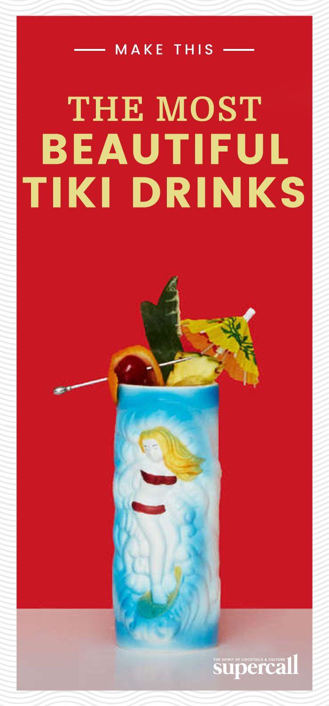 5 Most Beautiful Tiki Drinks Tiki Cocktails Tiki Drinks Recipes