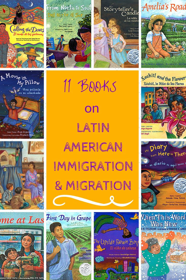 11 Books on Latin American Immigration and Migration. Our literacy specialist, Jill Eisenberg, presents 11 picture books to discuss current events around Latin American immigration.