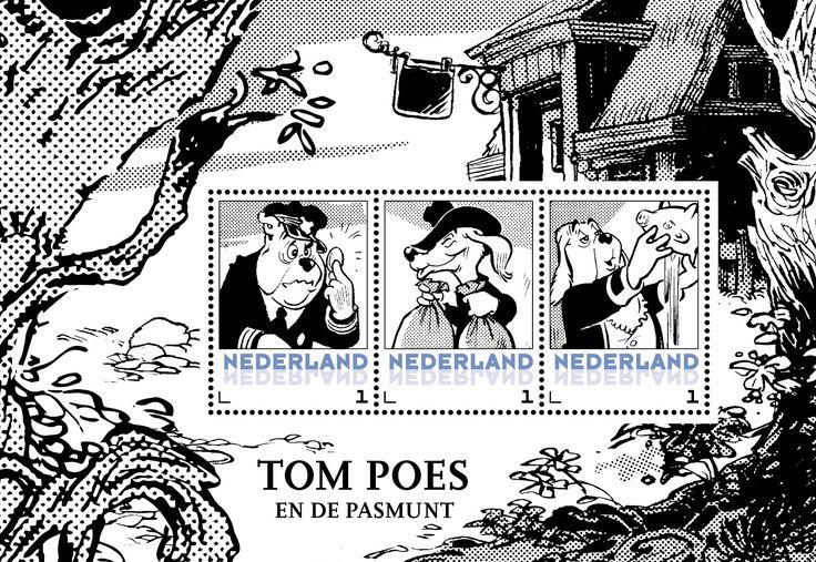 Postzegelset Tom Poes - Postsets - Postzegelproducten