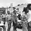 On May 2, 1963, Black children trained in nonviolent tactics gathered in Birmingham, Alabama, to protest racial segregation. Over the course of the protest, children were arrested, blasted with fire hoses, clubbed, and attacked byOn May 2, 1963, Black children trained in nonviolent tactics gathered in Birmingham, Alabama, to protest racial segregation. Over the course of the protest, children were arrested, blasted with fire hoses, clubbed, and attacked by dogs. Images of the children…