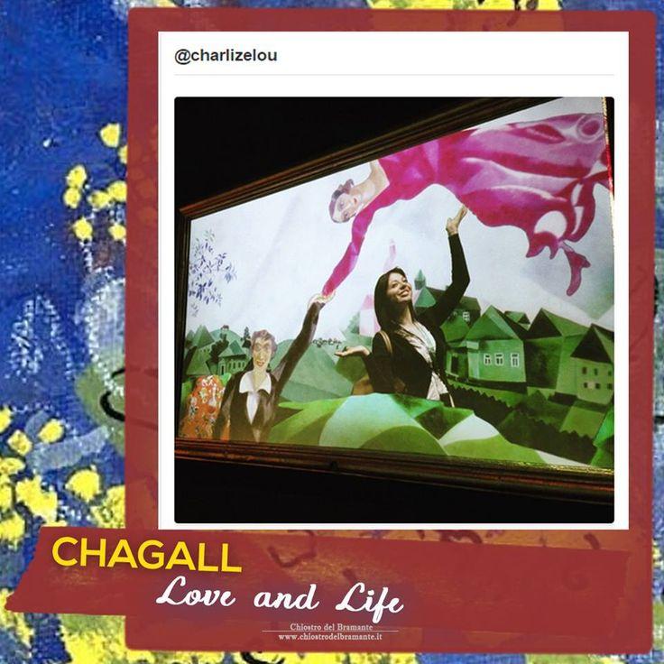 #mostra CHAGALL. LOVE AND LIFE 16 Marzo – 26 Luglio 2015 Roma, Chiostro del Bramante Info http://goo.gl/3IzZxp