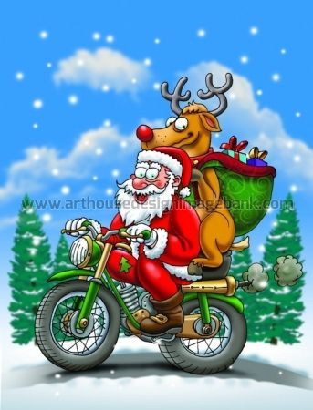Funny Santa Claus designs for licensing