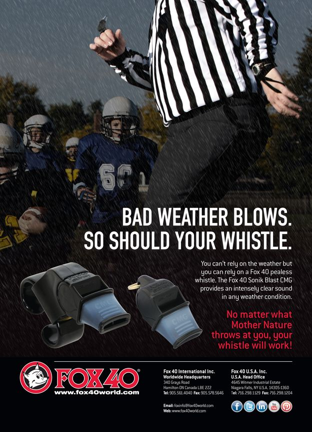 Referee Magazine Ad Published in the May 2014 Issue