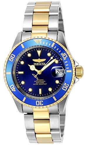 Great design, super price. The cool INVICTA Men's Pro Diver Gold Stainless Steel. #INVICTA  #KhaValeri http://www.pinterest.com/KhaValeri/    kha_amz_INVdiver0305_v26