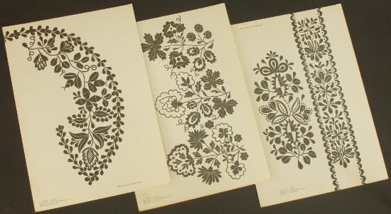 Book polish folk embroidery   Book Polish Folk Embroidery Ethnic Pattern Designs Regional Styles ...
