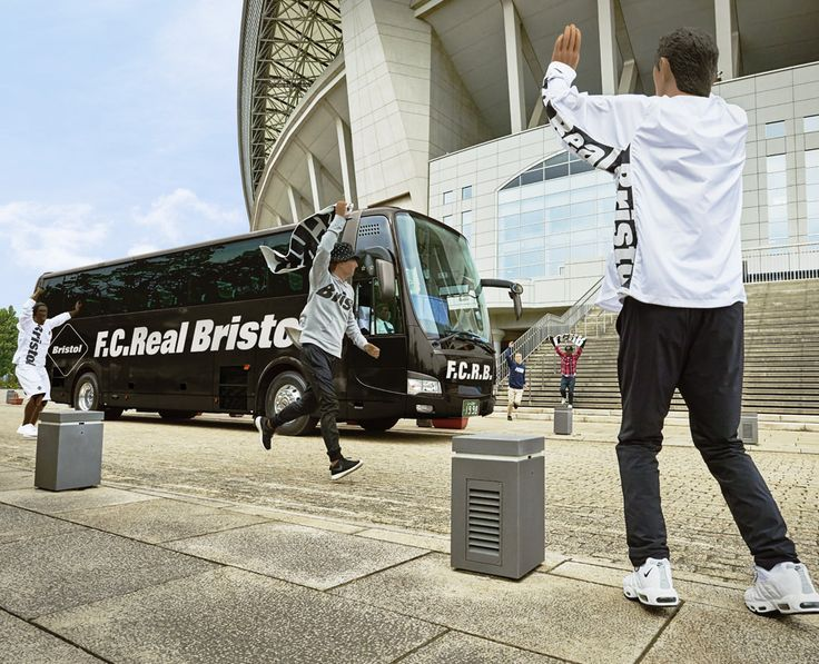 F.C. Real Bristol - football/fan culture escapism from Nike & SOPH.