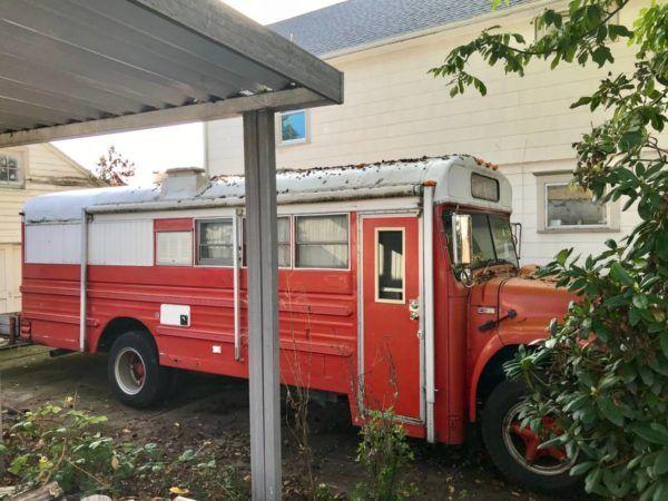10k School Bus Conversion In Portland School Bus Conversion Bus Conversion Bus Conversion For Sale