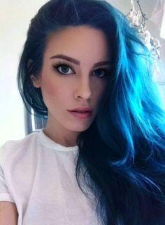 17 best ideas about dark blue hair on pinterest navy hair blue black hair dye and dark blue hair dye - Blue Color Hair