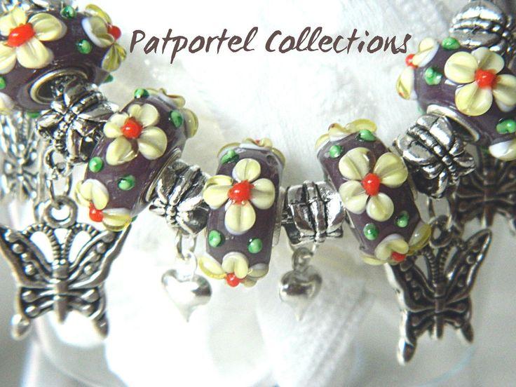 Butterflies Flutter Your Heart Silver Charms Bracelet