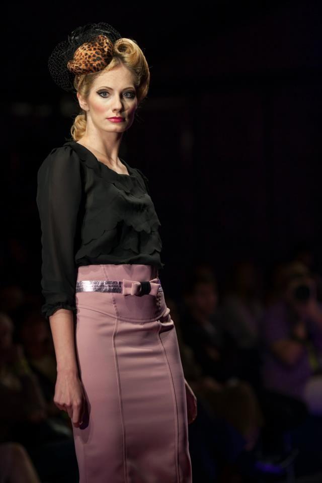 MissSpark at Fashionable East fashion show.
