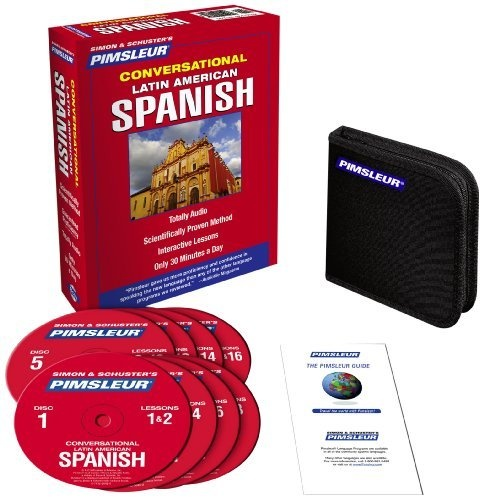 Latin American Spanish  Conversational: Learn to Speak and Understand Latin American Spanish with $29 Pimsleur Language Progra...: http://www.amazon.com/Latin-American-Spanish-Conversational-Understand/dp/0743550455/?tag=Fastcad1$