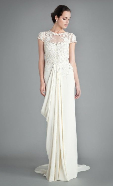 Laelia Floral Dress | Designer Wedding Gown | Temperley London