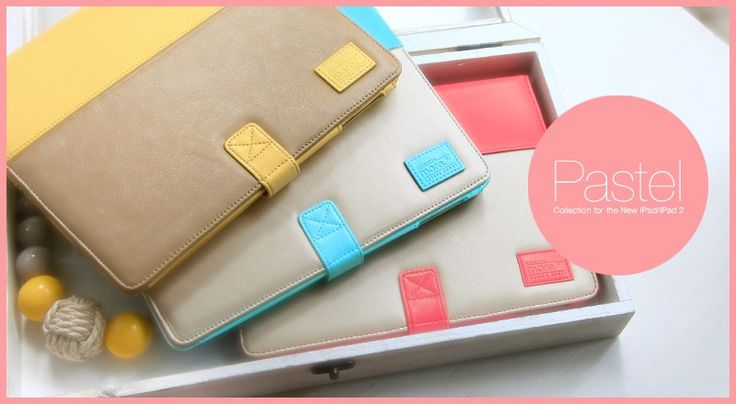 Pastel Collection for The New iPad/iPad 2 @ more-thing.com  Your iPad cases choices