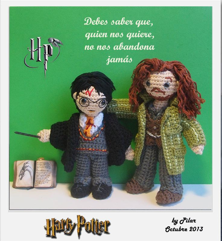 Amigurumi Harry Potter : 11 best images about Harry Potter Crochet on Pinterest ...