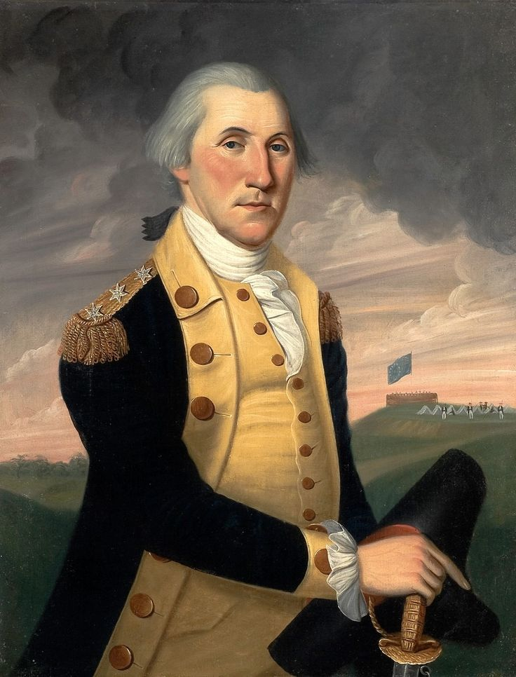 Charles Peale Polk painting of George Washington as Commander-in-Chief of the Continental Army, ca. 1787–93. Bequest of Henry Francis du Pont 1956.0562 A