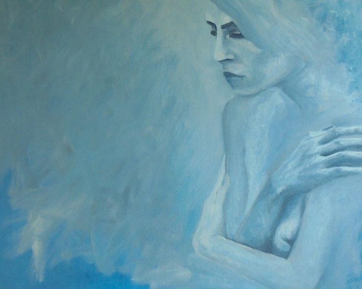 SOLITUDE IS SO COLD Isn't it? Minimal art by Jacek Sikora