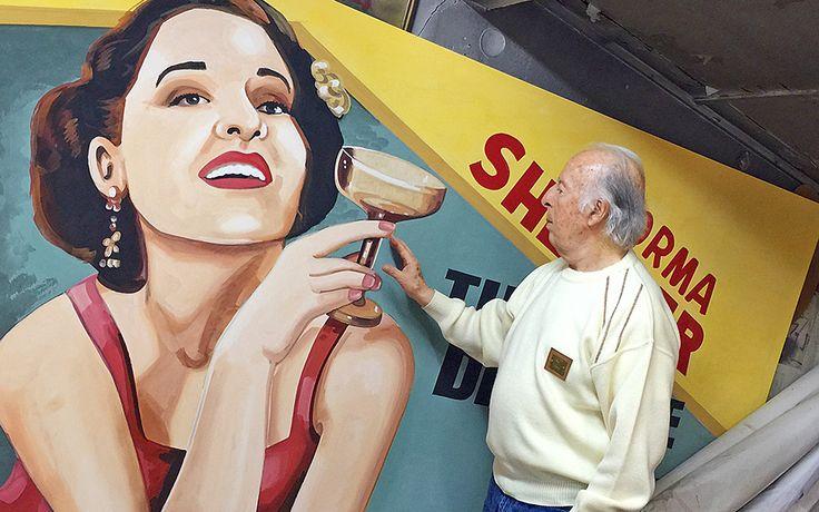 Meet the Last of the Movie Billboard Painters - Greece Is