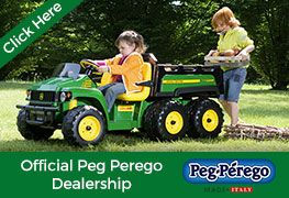 'Kids Electric Cars' are Authorised and official Peg Perego Battery Powered ride on toys retailers