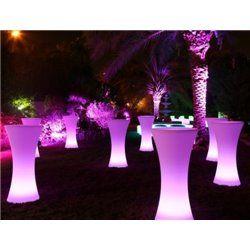 LED Illuminated Cocktail Table