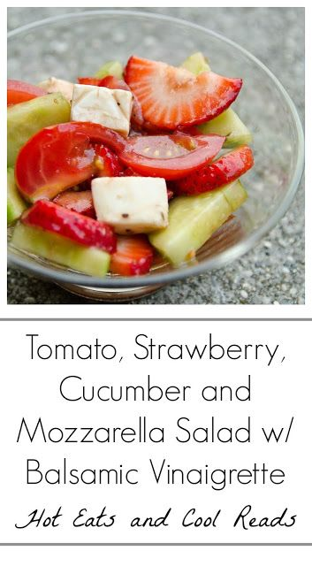 ... Mozzarella Salad with Balsamic Vinaigrette Recipe from Hot Eats and