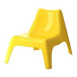 IKEA PS VÅGÖ Fauteuil - jaune - IKEA