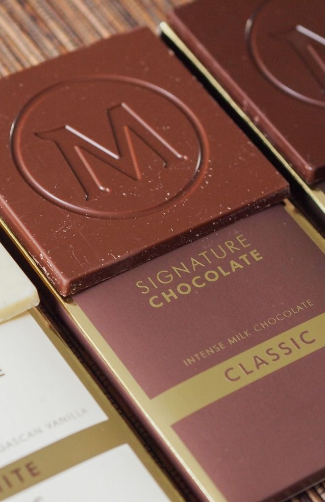 Have you ever wanted a Magnum, but without all that ice cream? Me neither. But you can!