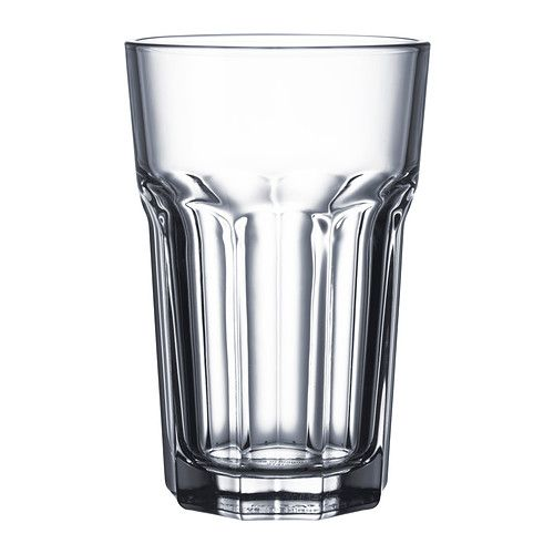 IKEA - POKAL, Glass, Also suitable for hot drinks.Made of tempered glass, which makes the glass durable and extra resistant to impact.