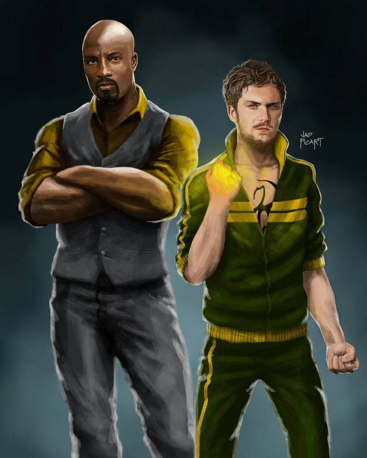 "2,969 Likes, 13 Comments - Jao Picart ピカート・ジャオ (@jaopicksart) on Instagram: ""Anyone wanna hire a couple of heroes? Power Man & Iron Fist at your service! @marvel @netflix…"""