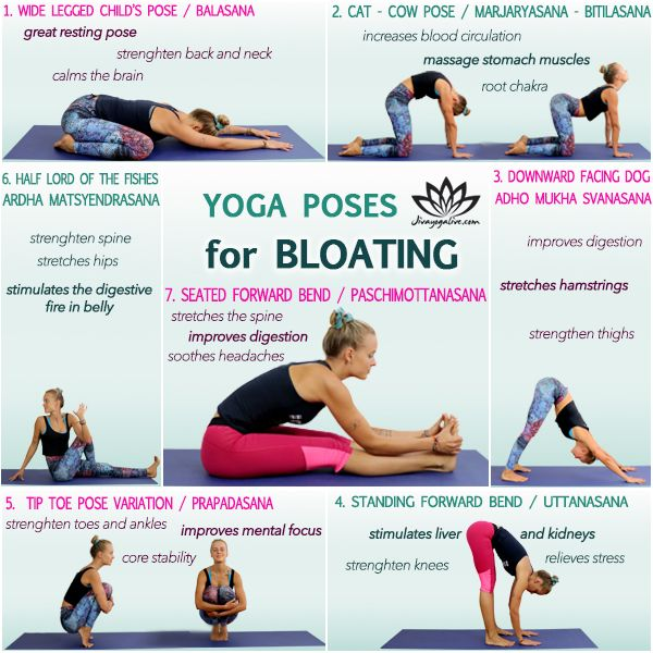 7 Awesome Yoga Poses For Bloating Relief