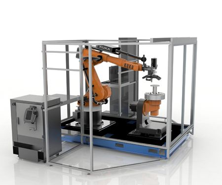 Robotic Composite 3D Demonstrator tackles automated #manufacturing — #Robotics #3DPrinting