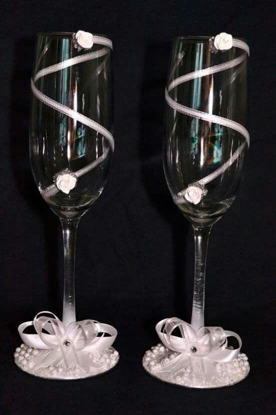 Pin by cynthia gabriela on copas decoradas pinterest for Copas de champagne