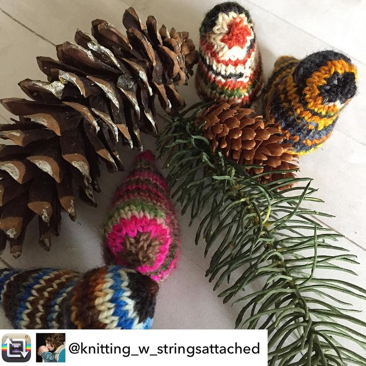 Knitted birds in Songbird Yarn! Pictured Belted Kingfisher, Anna's Hummingbird, Atlantic Puffin and Rufous Hummingbird.
