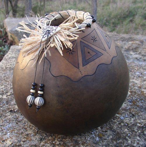 *Gourd Art by Nancy Overmyer