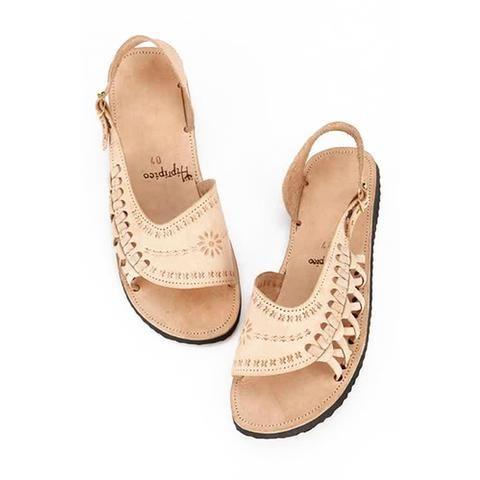 hiptipico korina handmade bohemian sandals leather