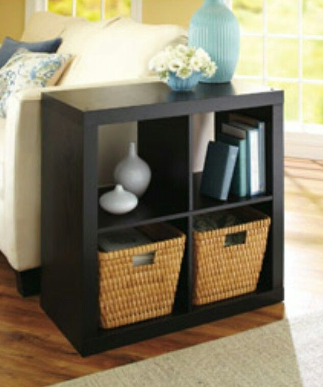 I love this small boxes shelve my living room beach life - How can i decorate my small living room ...