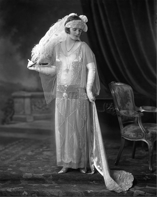 Chic Vintage 1920s Bride - Mary Latta