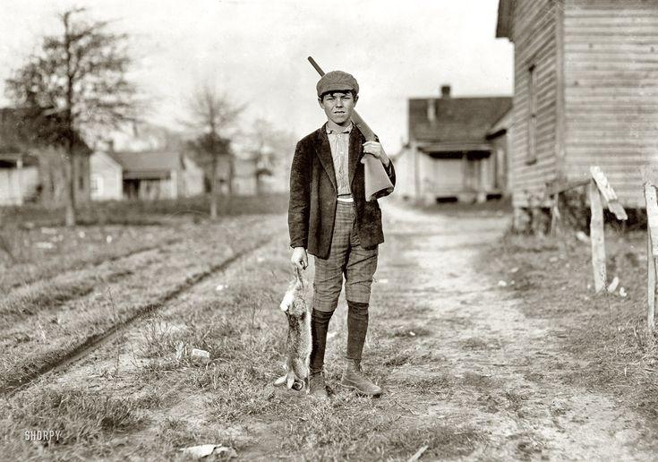 Shorpy Historical Photo Archive :: Bunny Hunter: 1908