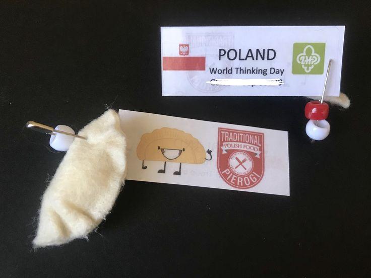 Girl Scout World Thinking Day - SWAP Poland Pierogi