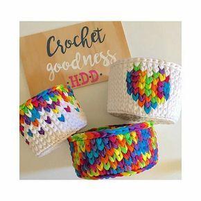 Será que eu gostei  cores cores é vida by  @hollidiannedesigns #fiosdemalha #cores #colorido #cestos #crochet #croche #love #artesanatofiodemalha #artesa #arte #arteira #regrann