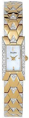 Bulova Women's Crystal MOP Watch 98T91