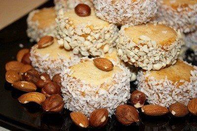 Печенье Альфахоре с вареной сгущенкой и арахисом | Кулинарные Рецепты