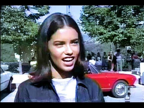 Adriana Lima - Age 18 * How It All Started w/ Victoria's Secret 1999 - YouTube