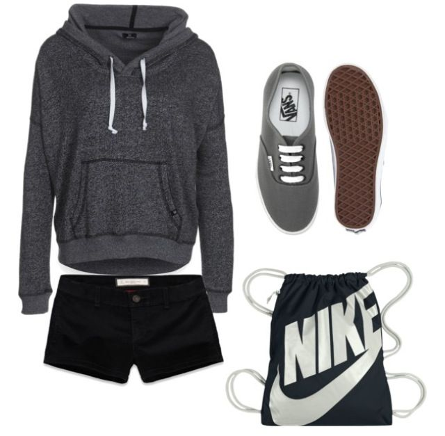 HELLA CUTE!! i'd through on an obey or vans bag though..not really a nike sporter ha unless im in the gym!