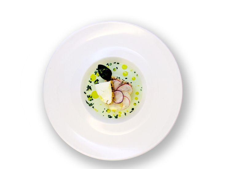 """Photographie de plat réalisé avec la Lumizy Box au restaurant """"Les Oliviers"""""""