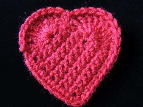 Para celebrar el video # 100 y a peticion de Uds. un Corazón en Crochet