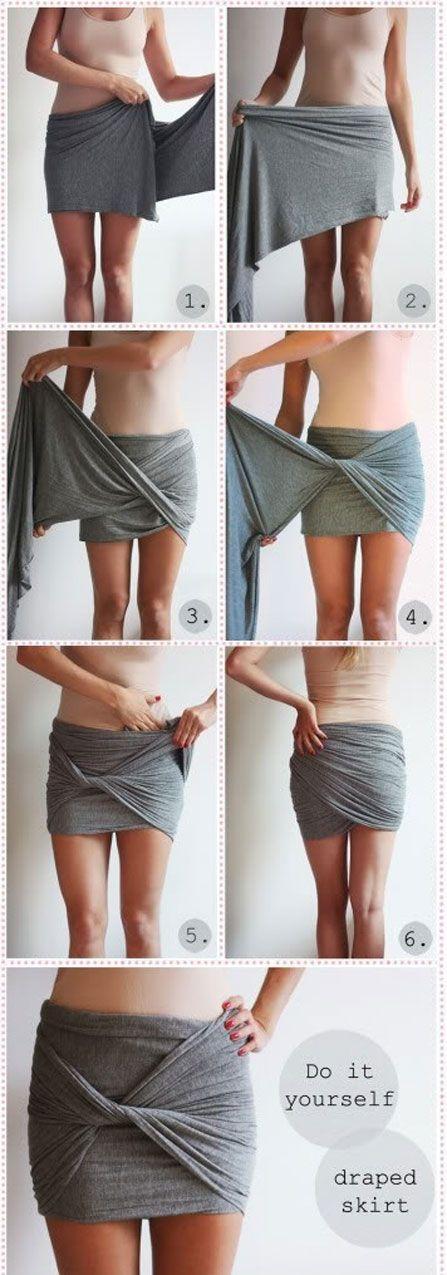 Wij vrouwen houden van afwisseling in onze garderobe en gaan het liefst wekelijks shoppen. Nou is het ook super leuk om creatief te zijn met de spullen die je al hebt! Deze week gaan we het hebben over de mogelijkheden van 1 brede sjaal, in elke kleur, print of materiaal zijn deze leuke ideeën na te maken. Voor meer tips ga naar www.budgi.nl #mode #sjaal #diy #creatief #rok #top #katoen #satijn #vrouwen #tips #kleren #kleding #goedkoop #besparen #budget #budgi