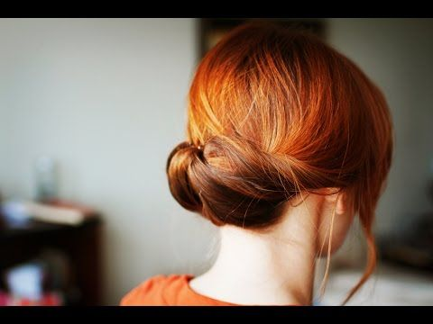 5. Gibson Tuck Hair - 12 Fab & Easy Bun Hairstyles ... → Hair